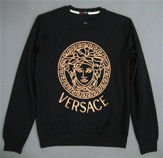 Vintage Versace medusa SweatshirtVersace Sport collection100% cotton with classic dramatic Embroidery technicMade in ItalyCondition 10/10Dead-stock