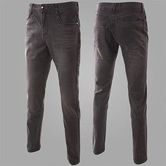 Straight Leg Gray Jeans . Shop Now At  http://sneakoutfitters.com/collections/new-in/products/ao-cscs-mw-k11-so83