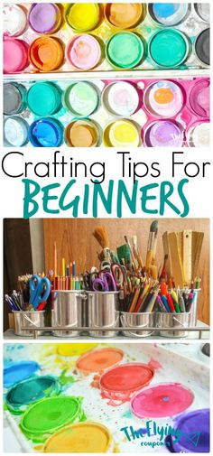 Crafting Tips for Beginners. DIY cool crafts and projects for kids. The Flying Couponer | Family. Travel. Saving Money.