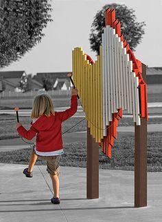 THE SWIRL (Standard - Orange)   Play Mart Playground Equipment