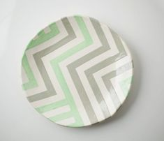 This reminded me of using modge podge, a glass plate and fabric to make a fun but unsoakable serving plate.