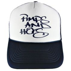 Beverly Hills Pimps & Hos Trucker Hat #bhph #beverlyhillspimpsandhos #beverlyhillspimpsandhoes #pimpsandhos #pimpsandhoes #beverlyhills #hat #trucker #truckerhat #headwear #cap #baseballcap #grey #oldenglish #streetwear #clothing #snapback #fitted #fashion #la #losangeles #twotoned #navy #throwback