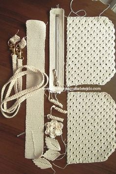 Cómo hacer una cartera de gala al crochet / Tutorial DIY | Crochet y Dos agujas