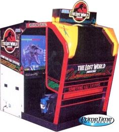 I found 'Lost World: Jurassic Park Theater: PrimeTime Amusements Video Arcade Games / Arcade Machines for Sale and Rental' on Wish, check it out!