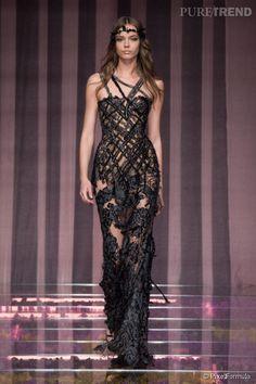 #Défilé Atelier #Versace automne hiver 2015-2016, #FW #Paris #fashion #couture