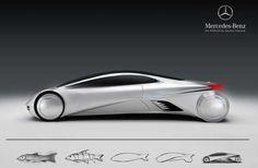 Mercedes-Benz SLK Aphelios    The SLK Aphelios exhibits futuristic styling and a touch of fluid elegance    Design by: Apostol Tnokovski