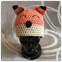 Nephi-Handmade - Fuchsmütze gehäkelt
