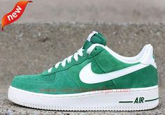 """How To Get Cheap Mens """"BLAZER"""" PACK Pine Green/Sail 488298-308 Nike Air Force 1 Low"""