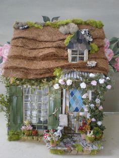 Gypsy Cottage Custom Dollhouse by cinderellamoments on Etsy