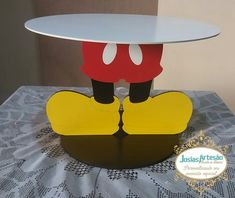 Theme Mickey, Fiesta Mickey Mouse, Minnie Mouse Theme, Mickey Y Minnie, Mickey Mouse Parties, Mickey Mouse Clubhouse Birthday Party, Mickey Mouse Birthday, Mickey Decorations, Mickey 1st Birthdays