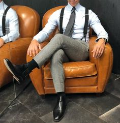Gq Style, Casual Suit, Work Attire, Gorgeous Men, Business Casual, Mens Suits, Leather Backpack, Menswear, Classy