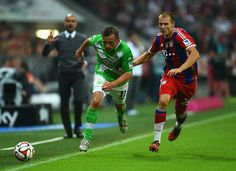 Badstuber's back in the Bundesliga after a nearly two year injury absence. Yay!  Bayern vs Wolfsburg 22.08.14