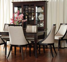 Completely Custom Dining Table And Chairs By Bermex. Visit  Www.portfoliointeriors.ca/