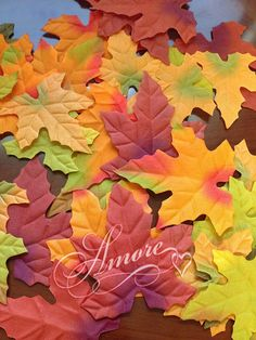 1000 Wedding Silk Fall Autumn Leaves Petals -- You can find out more details at the link of the image.