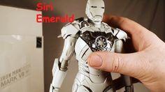 Unboxing Hot Toys Iron Man Mk 7 (Mark VII) Sub Zero White Chocoolate MMS... Hot Toys Iron Man, Sub Zero, Male Figure, Robert Downey Jr, Deadpool, Hot Guys, Marvel, Rober Downey Jr