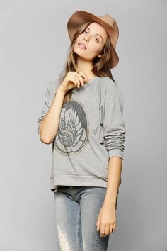 Corner Shop Stardust Geo Sweatshirt #urbanoutfitters
