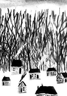 Drawing/black&white