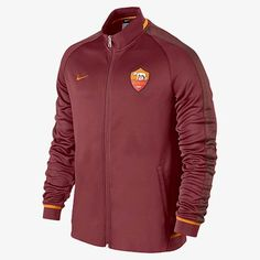 b7b16bcf2 Nike Roma Mens 2015 16 Red Walkout Training Jacket. Cheap Football ShirtsFootball  JacketsSoccer ...