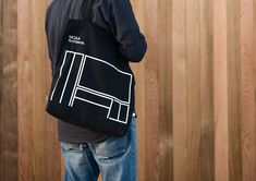 MOAA Architects by Inhouse, New Zealand. #branding #tote #design