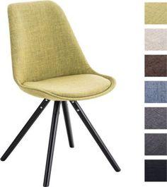 Design Stuhl PEGLEG Mit Stoff Bezug, Retro Design, Esszimmer Stuhl  Gepolstert, Sitzhöhe 46 Cm Jetzt Bestellen Unter: ...