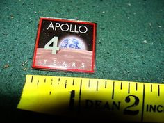 Nasa pin #apollo 40 years #commerative #enamel badge,  View more on the LINK: http://www.zeppy.io/product/gb/2/262216197481/