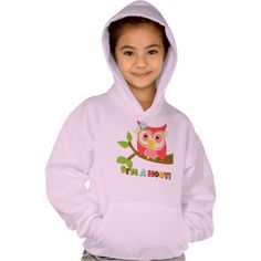 Owl Im a Hoot Tee Shirt  Find lots of other kids gifts and apparel at http://www.zazzle.com/toddlersplace?rf=238785193994622463