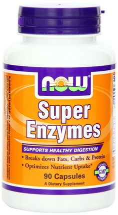 Amazon.com: NOW Foods Super Enzymes, 180 Capsules: Health & Personal Care