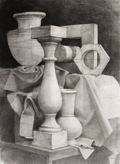 Still-life drawing