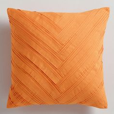 WorldMarket.com: Orange Origami Throw Pillow