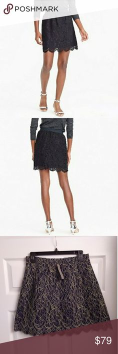 Frugal Bnwt Elasticated Waist Skirt With Glitter Design By Rose Collection Size M/l Street Price