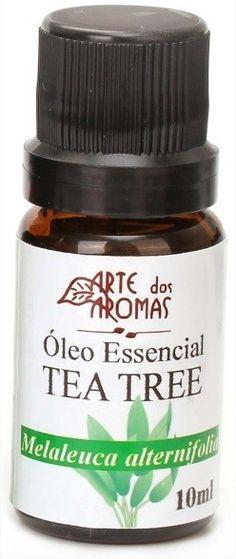 Óleo Essencial de Tea Tree / Melaleuca - Arte dos Aromas - Frasco com 10ml