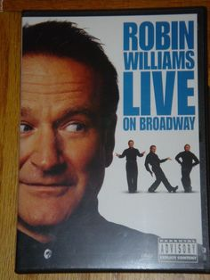 Robin Williams Live on Broadway DVD Parental Advisory Explicit Content Comedy   were the last stop on a 26-date U.S. tour. Riffing on just about every contemporary subject under the sun, Williams tackles politics, sex, religion, health, rocket science and a whole lot more! An Academy Award winner and huge star of countless movies, LIVE ON BROADWAY a real treat for any fan. If your looking for something special this holiday season for the person who has everything or is impossible to shop…