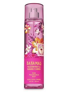 Body Spray and Fragrance Mist Signature Collection – Pink Passionfruit Banana Flower Fine Fragrance Mist by Bath & Body Works Bath Body Works, Bath N Body, Bath And Body Works Perfume, Perfume Diesel, Make Up Tools, Banana Flower, Bath And Bodyworks, Fragrance Mist, Beauty Products