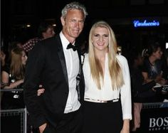 Rebecca Adlington And Mark Foster Step Out At The GQ Awards