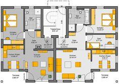 Bildergebnis fr grundriss mehrfamilienhaus mit aufzug  Grundriss 6 Wohneinheiten