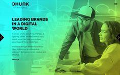Inspirational Showcase of Trending Gradients in Web Design