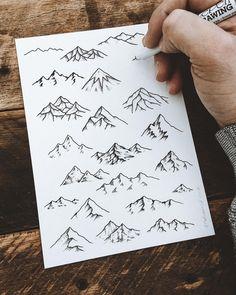 "20.5k Likes, 67 Comments - Sam Larson (@samlarson) on Instagram: ""⛰ Practice from this week. #art #illustration #mountains"""