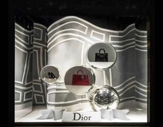 Dior at Saks Fifth Avenue,New York for NYC Fashion Week, pinned by Ton van der Veer,