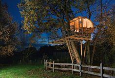 18 Casas en los Árboles que te Harán Soñar