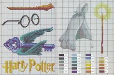 Graphics point cross drica: Harry Potter