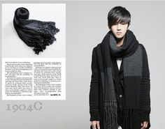 2013 new new cotton stripe cashmere knitting color men scarf matching leisure upset warm man scarves autumn and winter,big size