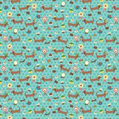 dachshund fabric the Ascot ladies Dachshund Art, Daschund, Duck Egg Blue, Print And Cut, Pattern Wallpaper, Print Patterns, Clip Art, Artwork, Prints