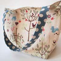 Bolsas de tecido: escolha a sua e faça você mesma                              …