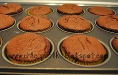 Chica Perika: Más pastelitos de chocolate. Receta de cupcakes simple. | Recetas | Costura | Manualidades | Tutoriales