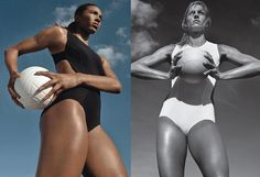 National Volleyball Team players Rachael Adams and Christa Harmotto Dietzen Olympic Volleyball, Volleyball Quotes, Volleyball Players, Team Player, Fitness Photography, Day Plan, Team Usa, Nice Body, Fitness Models