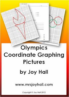 Olympic Medal Coordinate Graphing Picture Activity