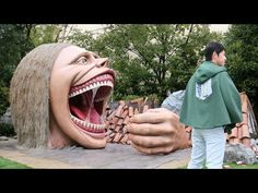Universal Studios in Japan has constructed an Attack on Titan experience that allows guests to enjoy the feeling of being trapped inside the massive jaws of a Titan. Amazing.