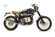 BMW R80 ST Street Tracker by Fuel motorcycles #motorcycles #streettracker #motos | caferacerpasion.com