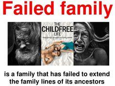 Family values: definition of failed family : family_values