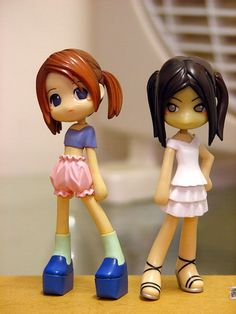 Girls cake toppers